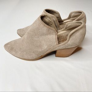 Seychelles Cutout Heeled Ankle Boots Booties 7.5